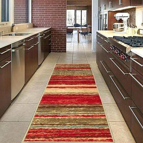فرش آشپزخانه مستطیلی