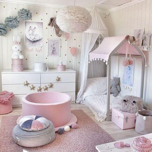 نکاتی که باید برای دکوراسیون اتاق خواب کودک دختر در نظر گرفت