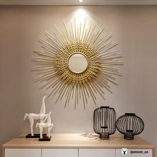زیبایی دکوراسیون منزل با آینه دکوری