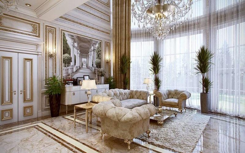 سبک نئو کلاسیک طراحی داخلی